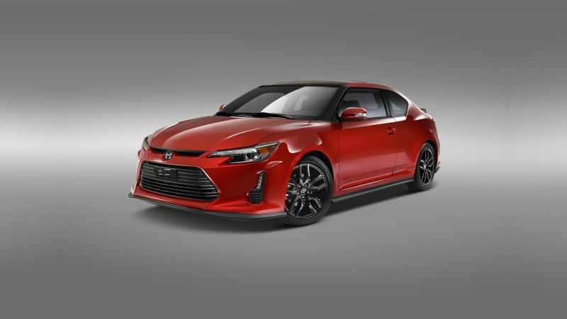 Scion tC, Release Series 10.0, NYIAS 2016, red (horizontal)
