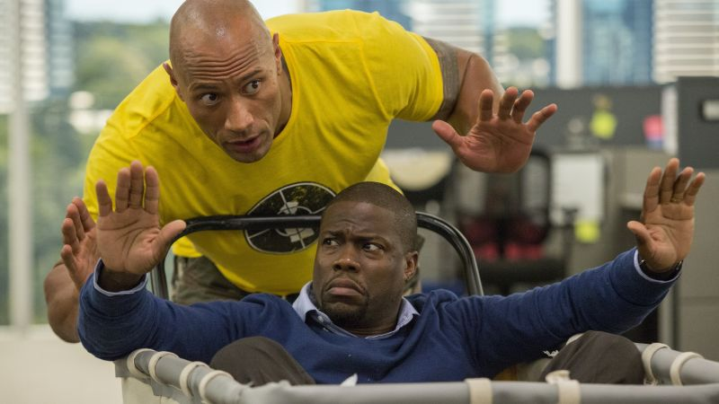 Central Intelligence, Dwayne Johnson, Kevin Hart, Best Movies of 2016 (horizontal)