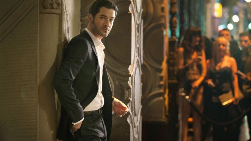 Lucifer, Tom Ellis, Best TV Series (horizontal)