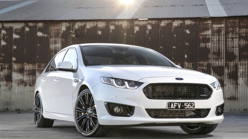 Ford Falcon XR6, limited edition, Sprint, white (horizontal)