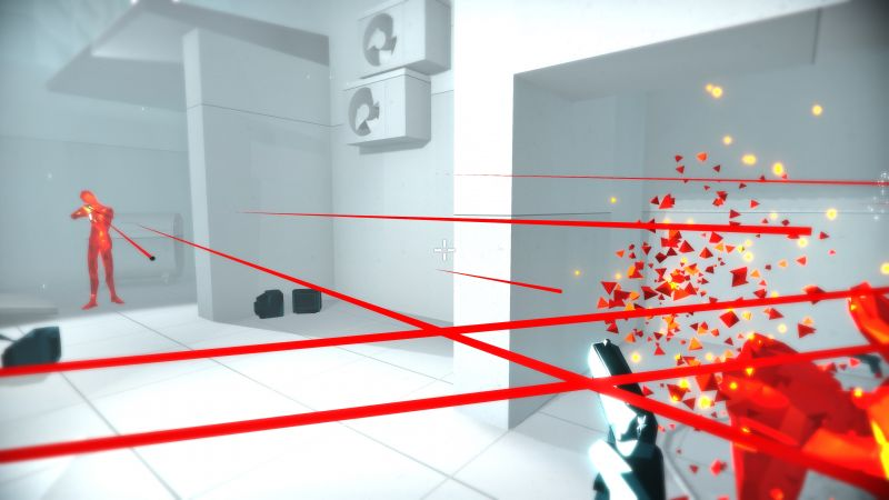 Superhot, VR, Oculus Touch, PS VR, PS4, Xbox (horizontal)