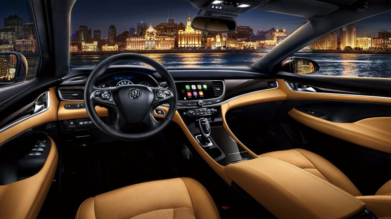 Buick LaCrosse, sedan, business, interior (horizontal)