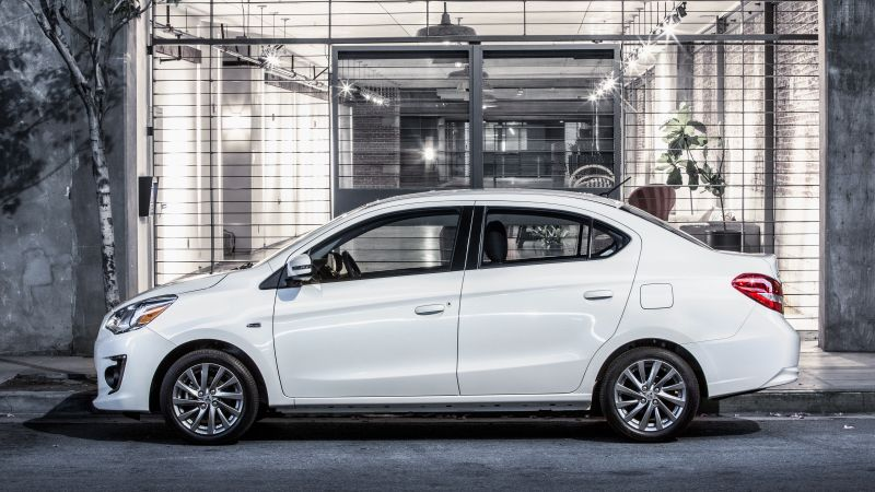Mitsubishi Mirage G4, NYIAS 2016, sedan, white (horizontal)