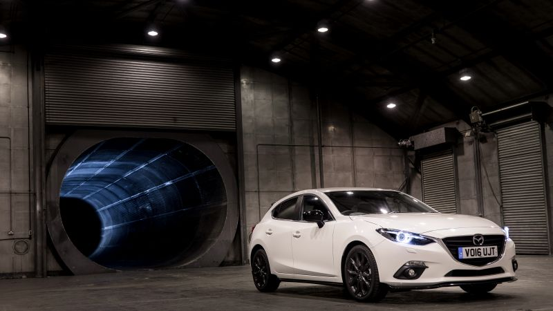 Mazda3 Sport Black Special Edition, sport car, white