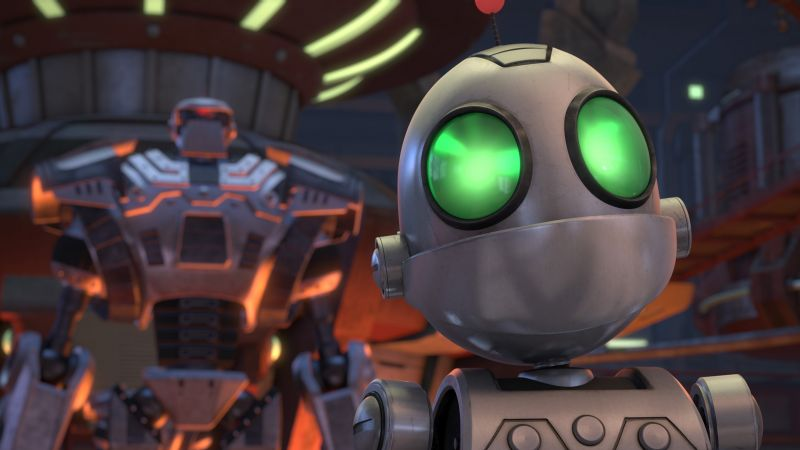 Ratchet & Clank, Clank, robot, best animation movies of 2016