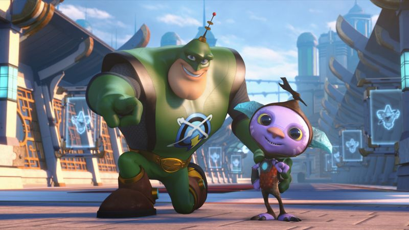 Ratchet & Clank, Clank, robot, best animation movies of 2016 (horizontal)