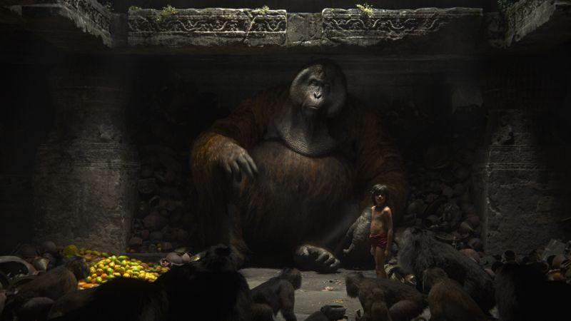 The Jungle Book, Monkey King, King Louie, adventure, fantasy, Best movies of 2016 (horizontal)