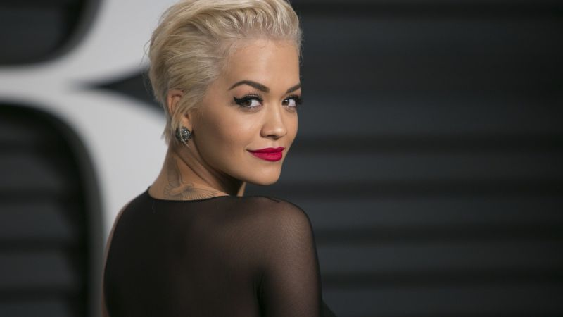 Rita Ora, Rita Sahatciu Ora, Actress, Artists, television star, sofa, dress, jewel, room, interior (horizontal)