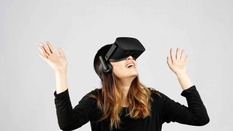 Oculus Rift, Oculus Touch, Virtual Reality, VR headset (horizontal)