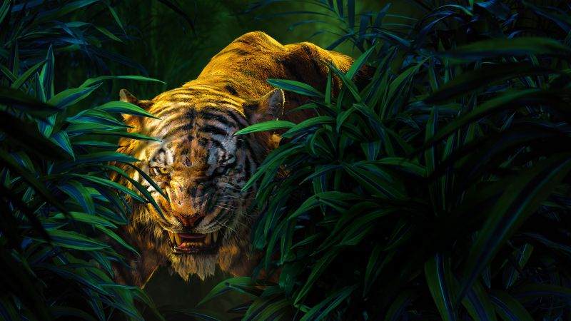 The Jungle Book, Shere Khan, Best movies of 2016