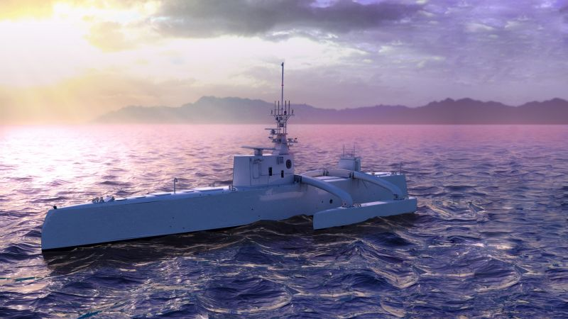 ACTUV, Anti-Submarine Warfare Continuous Trail, Unmanned Vessel, USA Navy