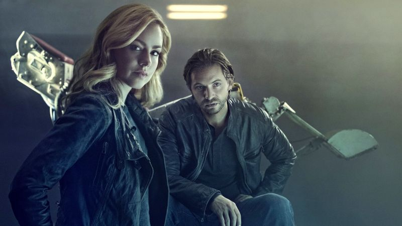 12 Monkeys, Aaron Stanford, Amanda Schull, Best TV Series, 2 season (horizontal)