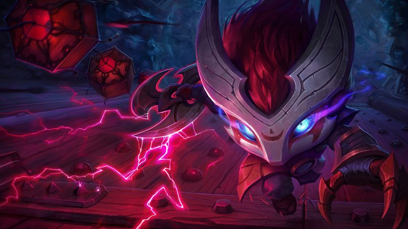 League of Legends, game, lol, MOBA, blood moon