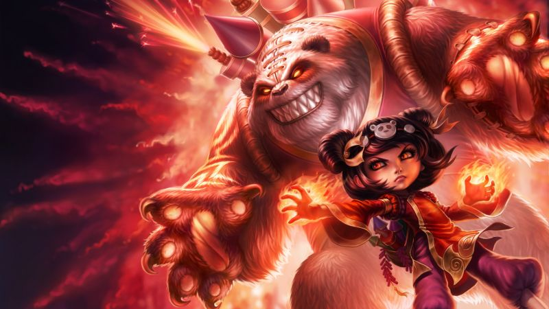 Annie, League of Legends, game, lol, MOBA (horizontal)