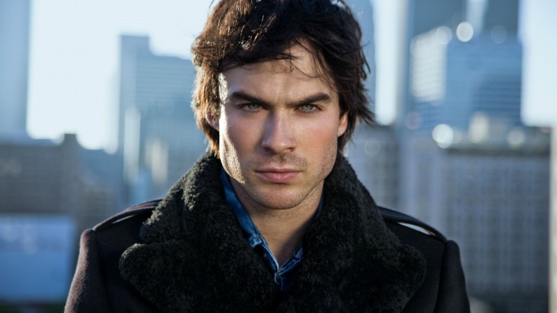 Ian Somerhalder, Ian Joseph Somerhalder, Actor, television star, black coat