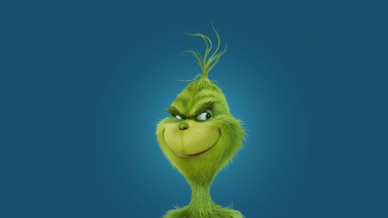 How the Grinch Stole Christmas, Grinch, green