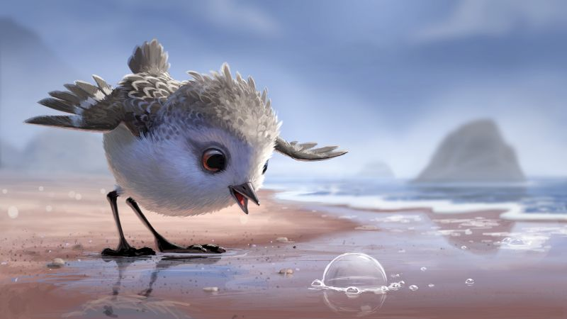 Piper, bird, pixar