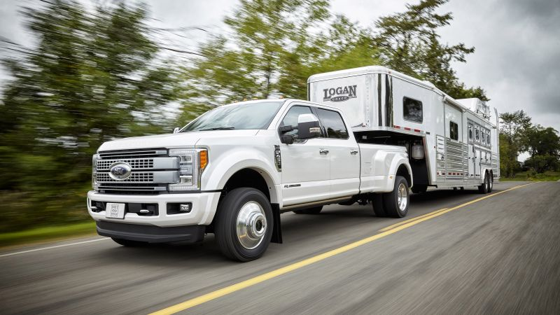 ford f450, super duty platinum, crew, cab, white