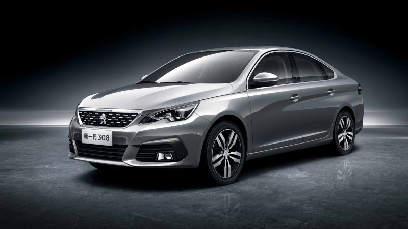 Peugeot 308 Sedan, Beijing Motor Show 2016, Auto China 2016, sedan, grey (horizontal)