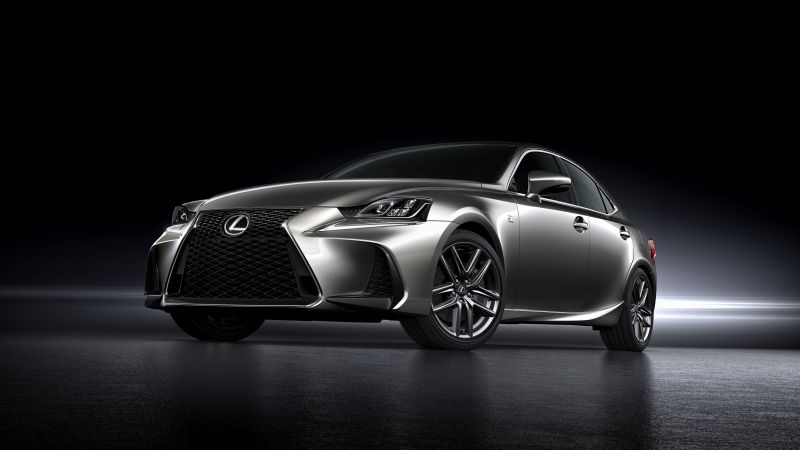Lexus IS, Beijing Motor Show 2016, Auto China 2016, silver (horizontal)