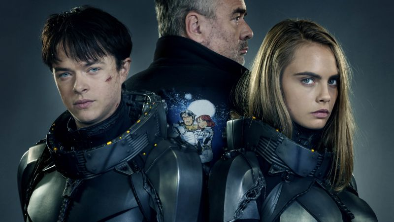 Valerian and the City of a Thousand Planets, Dane DeHaan, Cara Delevingne