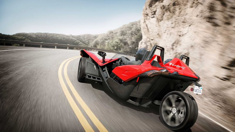 Polaris Slingshot, limited edition, red