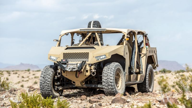 Polaris DAGOR, Ultra-Light Combat Vehicle, vehicle, U.S. Army