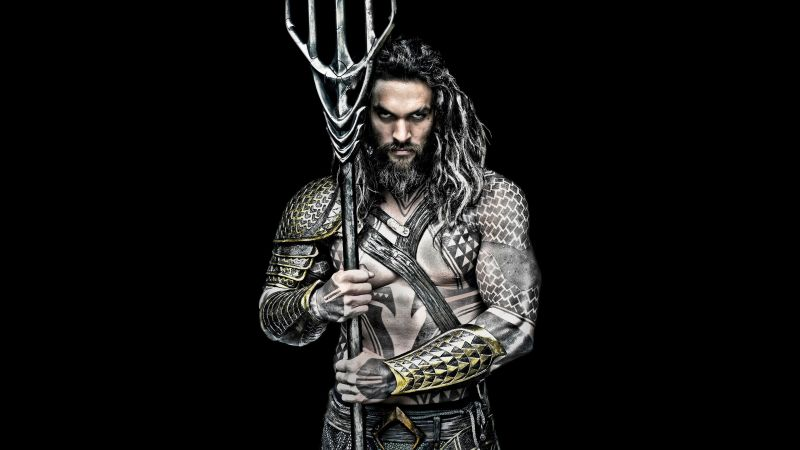 Aquaman, Jason Momoa, DC, superhero (horizontal)