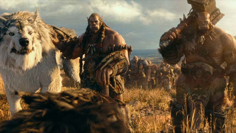 Warcraft, ork, wolf, Best Movies of 2016 (horizontal)