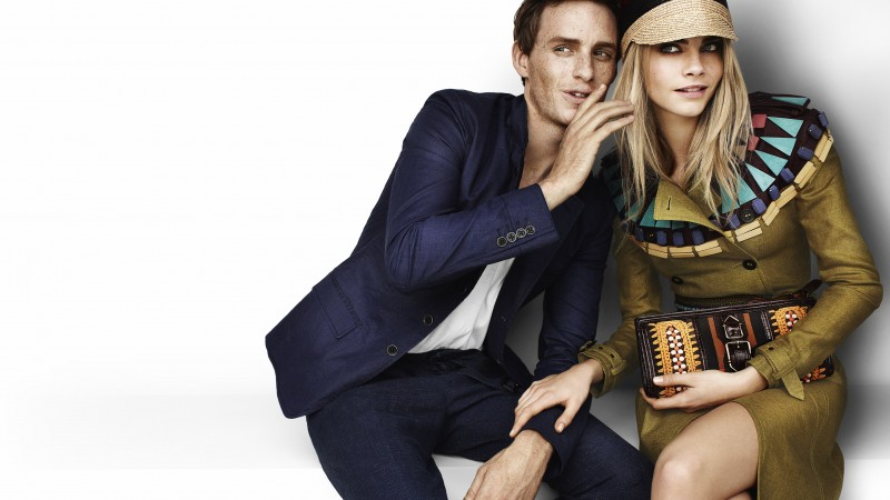 eddie redmayne, cara delevingne, model, actress, blonde, look, actor (horizontal)