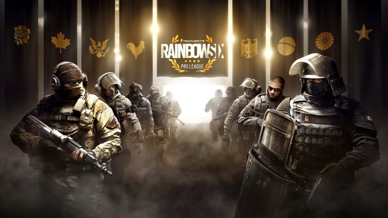 Tom Clancy's Rainbow Six pro league, operation black ice, best games, ship