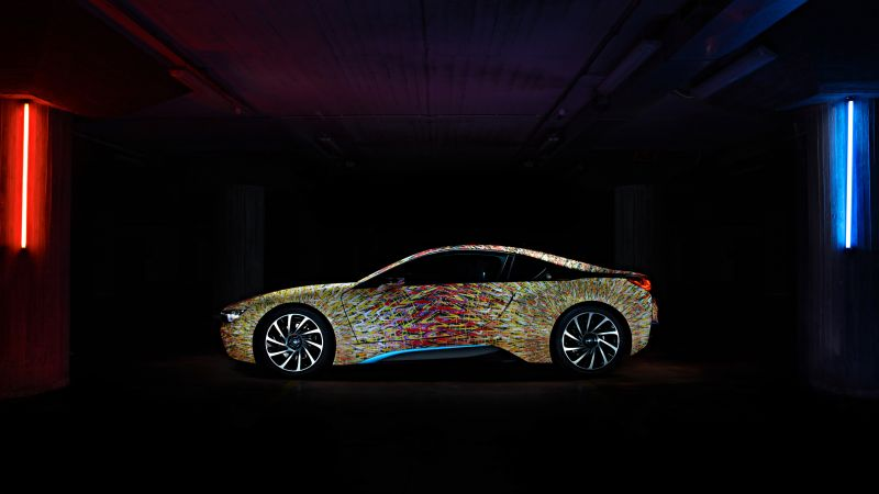 "BMW i8 ""Futurism Edition"", Garage Italia Customs, supercar"