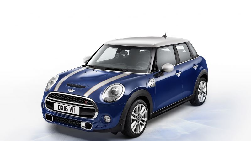 MINI, Cooper, S 5-Door Seven, blue (horizontal)
