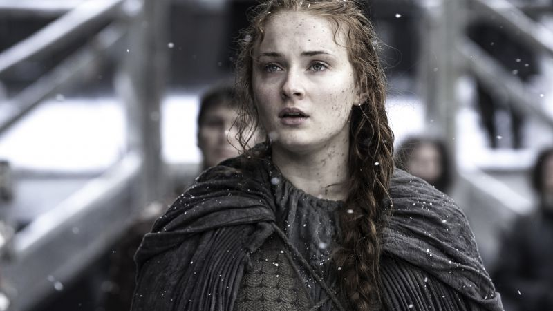 Game of Thrones, Sansa Stark, Best TV Series, 6 season (horizontal)