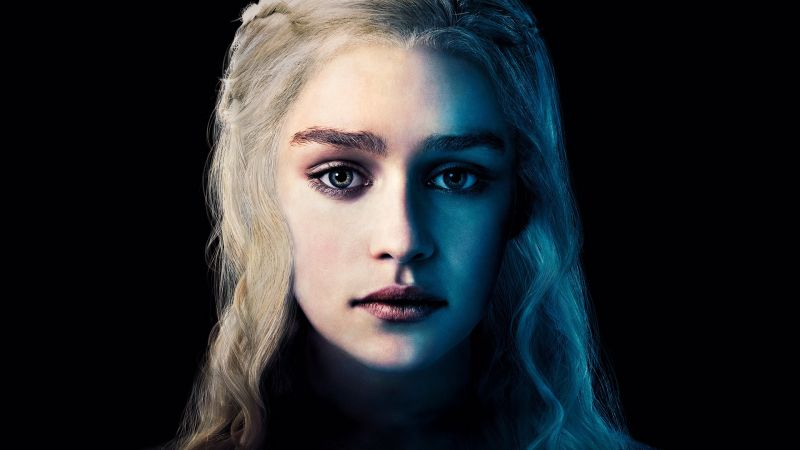 Game of Thrones, Daenerys Targaryen, Emilia Clarke, Best TV Series, 6 season (horizontal)