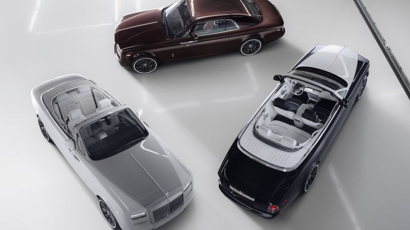 Rolls Royce Phantom Zenith Collection, luxury cars, silver (horizontal)