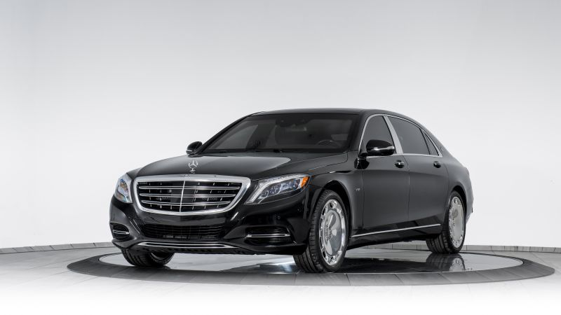 Mercedes-Maybach S 600, INKAS, luxury cars, armored car (horizontal)