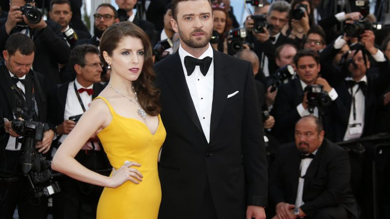 Justin Timberlake, Anna Kendrick, Cannes Film Festival 2016, Most popular celebs (horizontal)