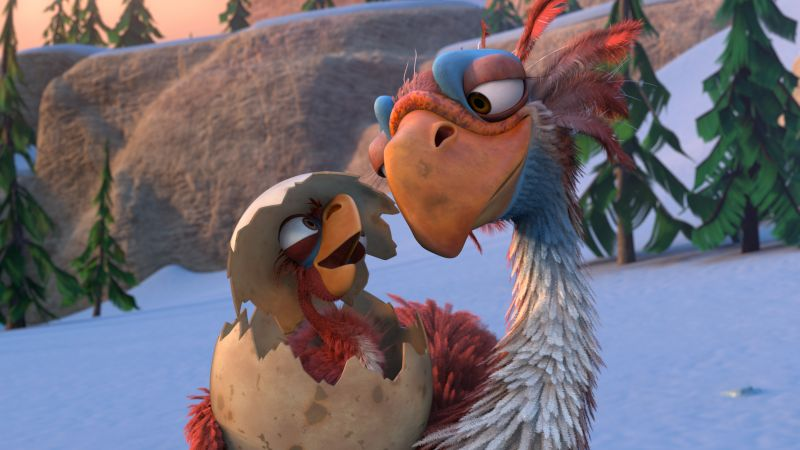 Ice Age :The Great Egg, birds, best animations of 2016
