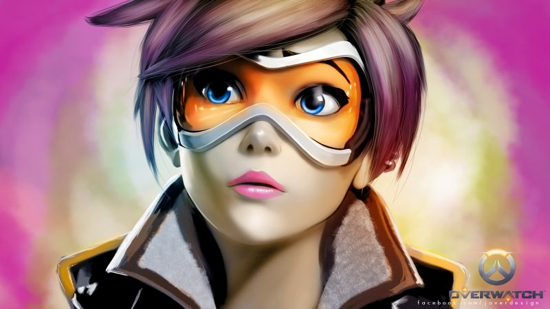 Author: Blizzard OVERWATCH, tracer, Shooter, PlayStation 4, Xbox One, Windows, Best Games