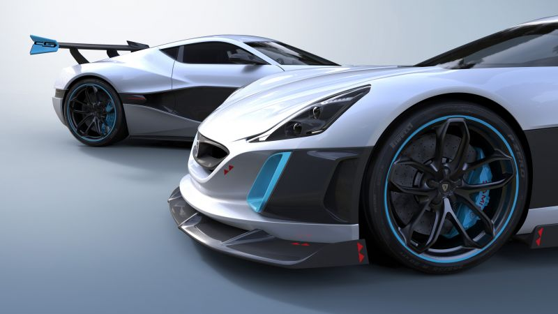 Rimac Concept S, electric car, electric, supercar (horizontal)