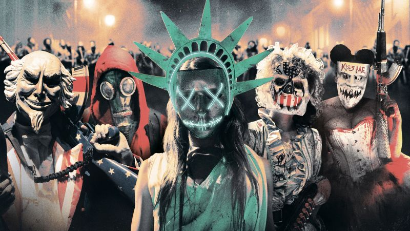 The Purge: Election Year, mask, best movies of 2016 (horizontal)