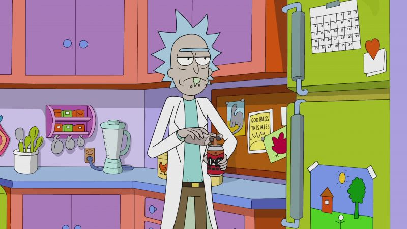 Rick and Morty, rick, 3 season, best tv series (horizontal)