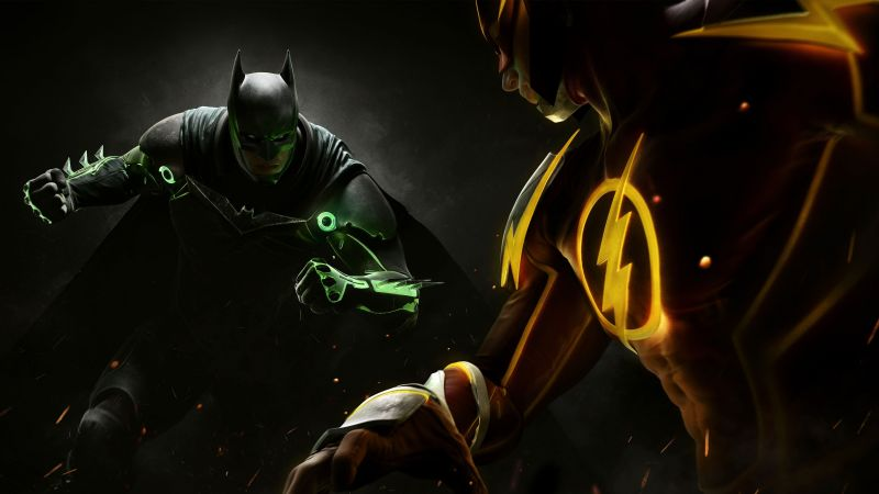 Injustice 2, batman, superman, fighting, PC, PlayStation, PS4, Xbox One (horizontal)