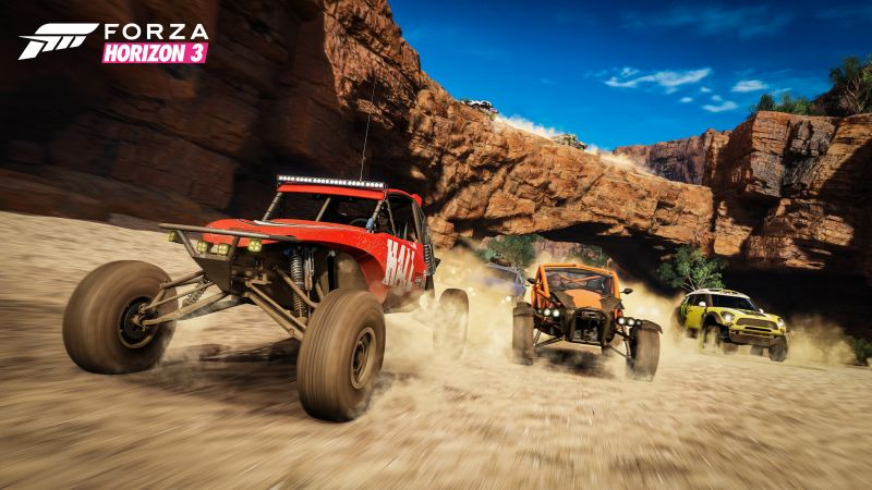 Forza Horizon 3, racing, extreme, E3 2016, best games, PlayStation 4, Xbox One, Windows, Best Games (horizontal)