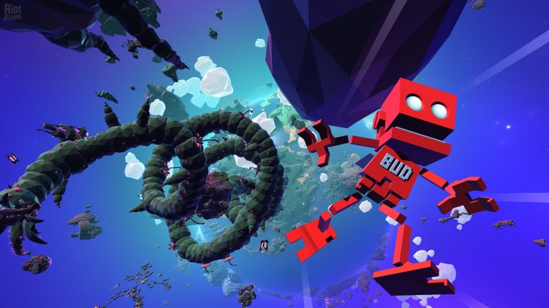 Grow Up, E3 2016, platform, red robot, Microsoft Windows, PlayStation 4, Xbox One