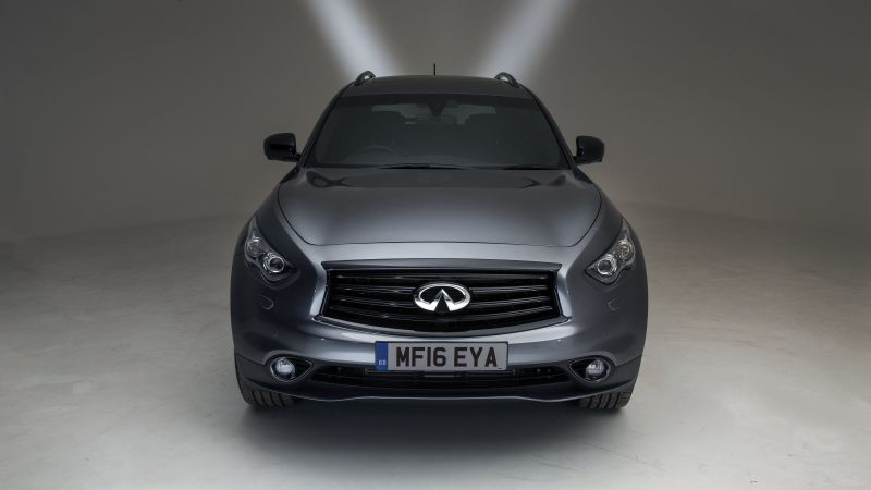 Infiniti QX70S, crossover, silver (horizontal)