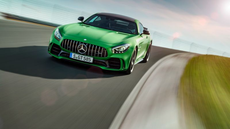 Mercedes-AMG GT R, green, Goodwood Festival of Speed 2016 (horizontal)