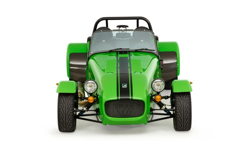 Caterham seven 275 r, caterham 7, green (horizontal)
