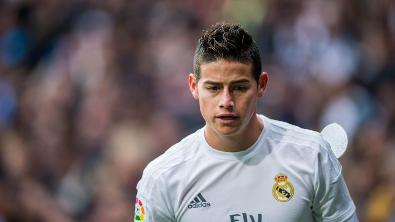 Football, James Rodríguez, The best players 2016, FIFA World Cup, Real Madrid, footballer, James David Rodríguez Rubio (horizontal)